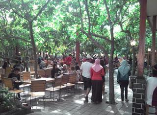 Suasana Kampung Coklat, Blitar