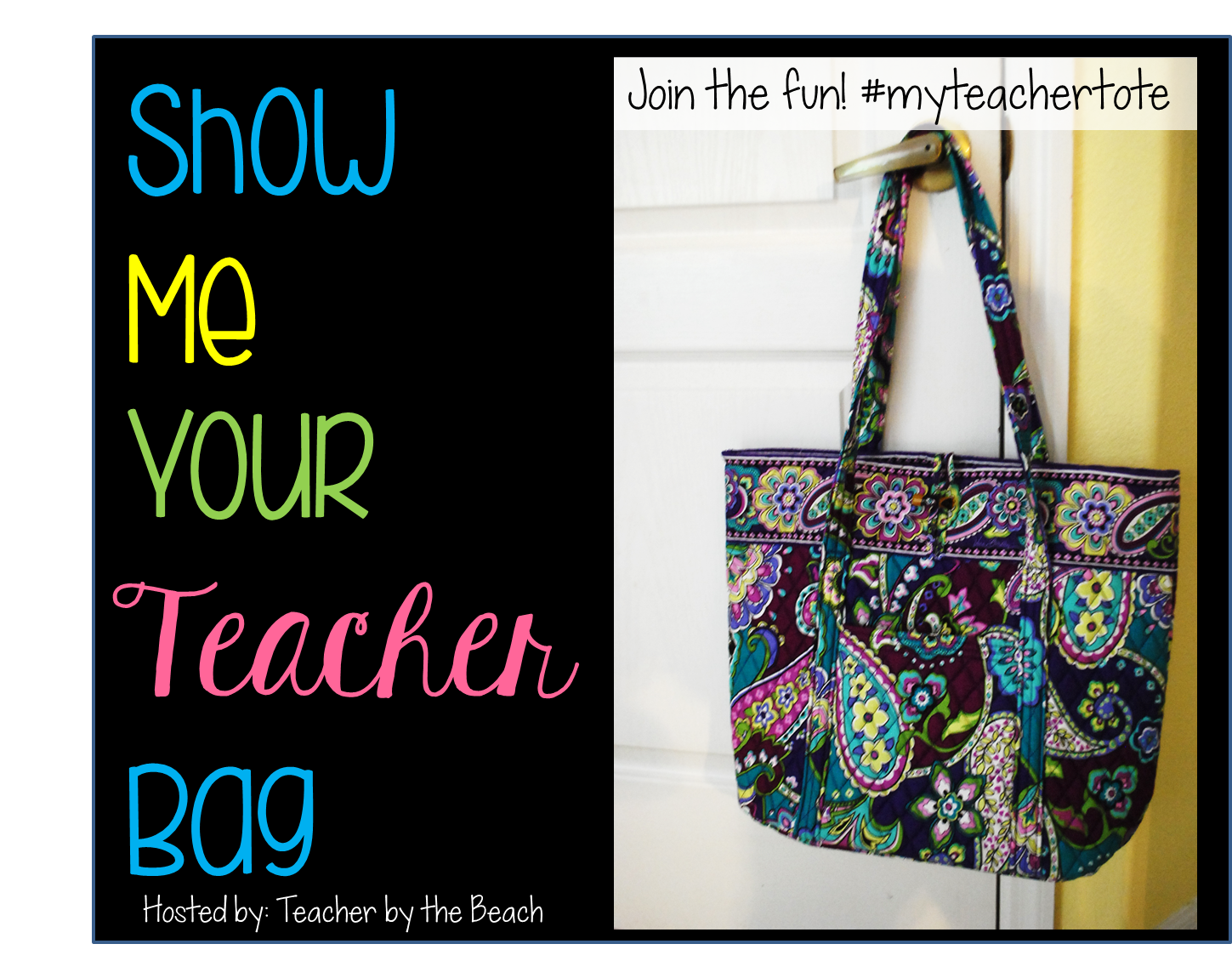 http://theteacherscauldron.blogspot.com/2014/07/show-me-your-teacher-tote-linky.html