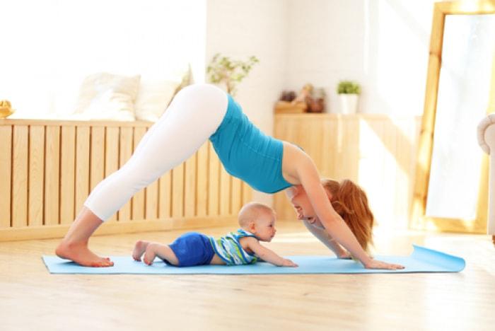 Bài tập cho mẹ sau sinh cho bản thân khi nuôi con nhỏ của mẹ nhật