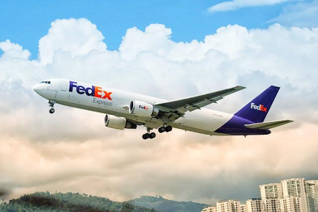FedEx Boeing 767 Taking Off from PEN