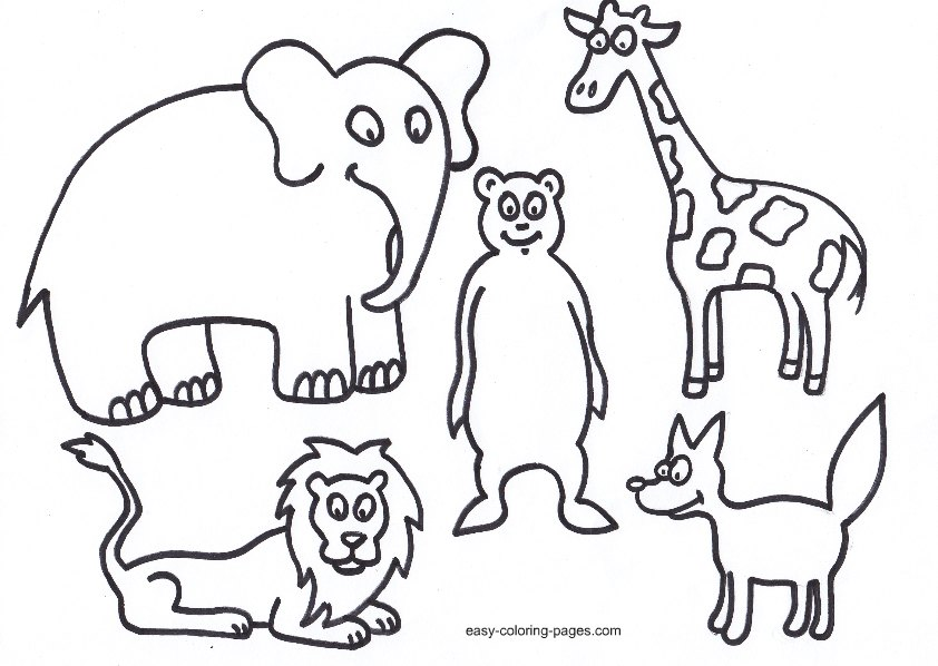 biblical animals coloring pages - photo#1