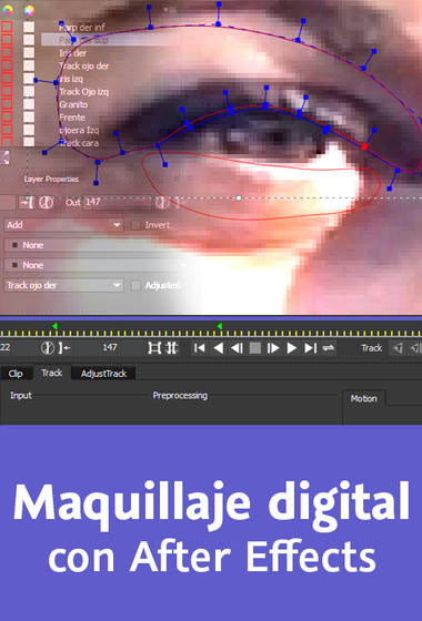Video2Brain: Maquillaje digital con After Effects