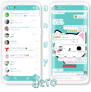 Hello Kitty Theme For YOWhatsApp & Aero WhatsApp By Ave fénix