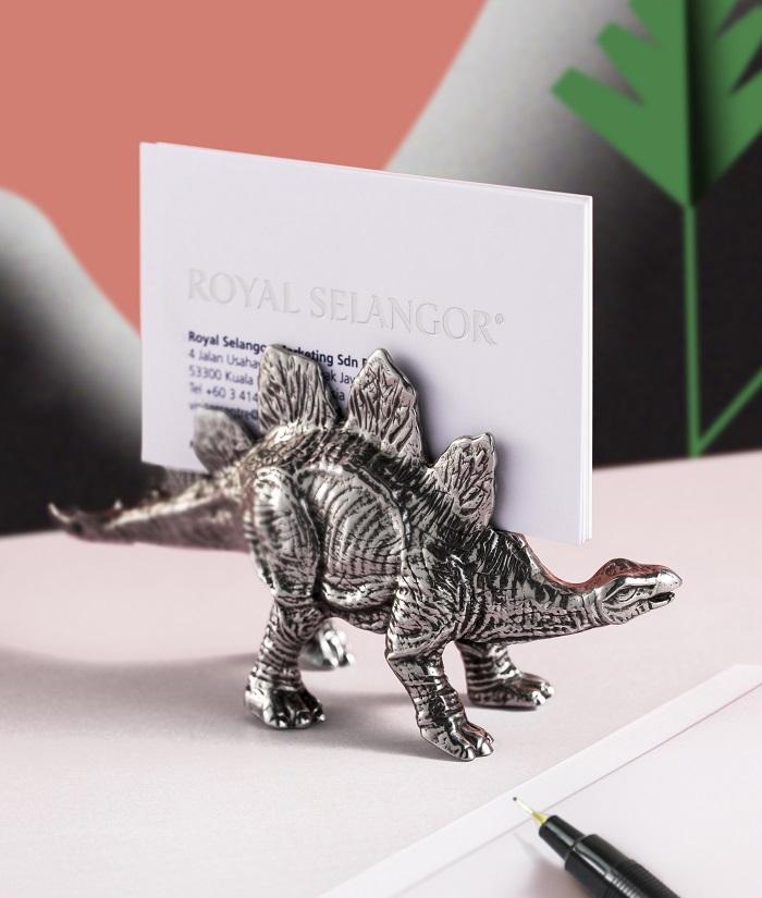 Dinosaurs Stationery From Royal Selangor Stegoraurus Card Holder
