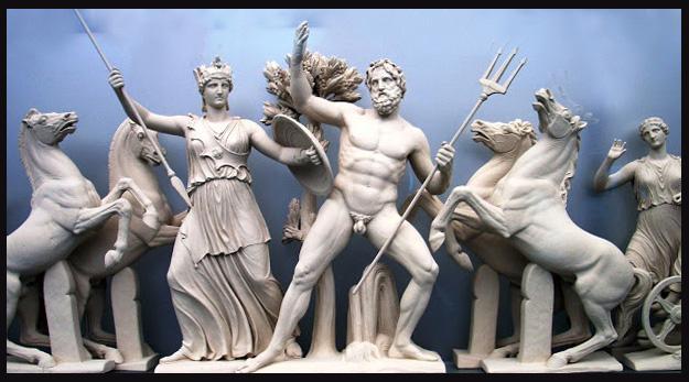 Disputa entre Atenea y Poseidón por el dominio del Ática