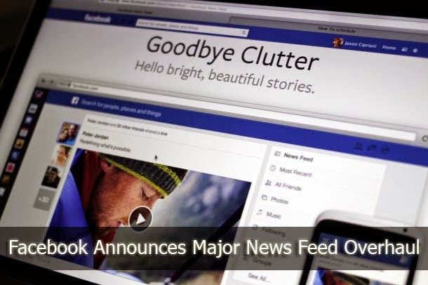Facebook News Feed Overhaul