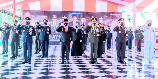 Kodam XIV/Hsn, Peringati HUT Ke-75 TNI Digelar Secara Virtual