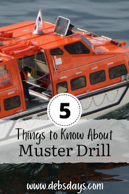 5 things to know about the muster drill on a cruise ship