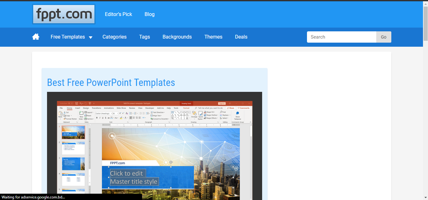 PowerPoint & Others Presentation এর জন্য 10টি Best Free Template Site