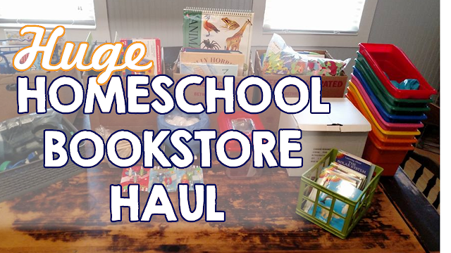 homeschool book store haul