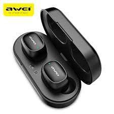 Awei T13 Earbuds Wireless Headphones - Black