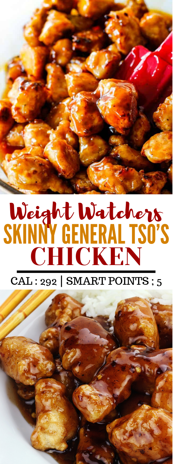 SKINNY GENERAL TSO'S CHICKEN #diet #healthyeat