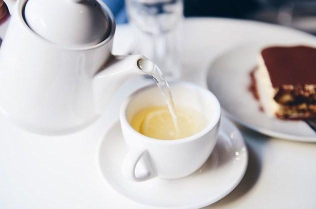 Tea with IRINA and VICTOR