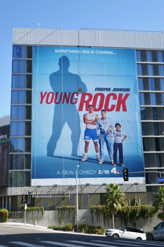 Giant Young Rock series premiere billboard