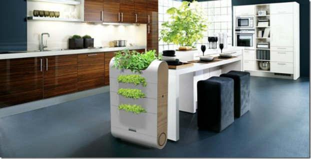 5 eco organic kitchen designs. Black Bedroom Furniture Sets. Home Design Ideas