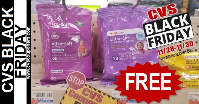 FREE CVS Baby Wipes Black Friday Deal