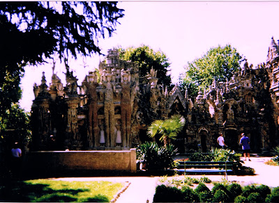 French Village Diaries #LazySundayinFrance Facteur Cheval Palais Idéal
