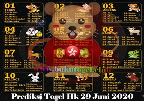 PREDIKSI BOCORAN TOGEL HONGKONG SENIN 29 JUNI 2020