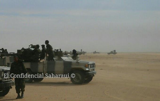 El Ejército de Liberación Saharaui continúa atacando el muro de la vergüenza.
