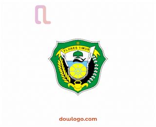 Logo Kabupaten Flores Timur Vector Format CDR, PNG
