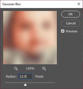 Memburamkan foto dengan Gaussian Blur di Photoshop