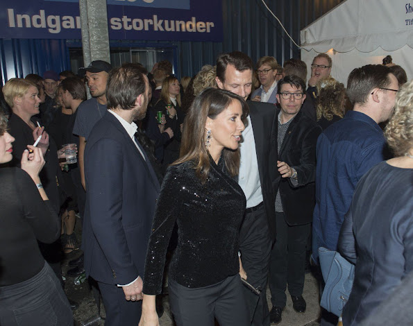 Princess Marie of Denmark and Prince Joachim of Denmark attended the annual prize-giving show of 'Zulu Awards 2015'
