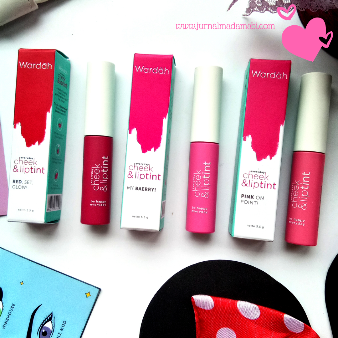 Review: Wardah Everyday Cheek & Lip Tint (All Shade)