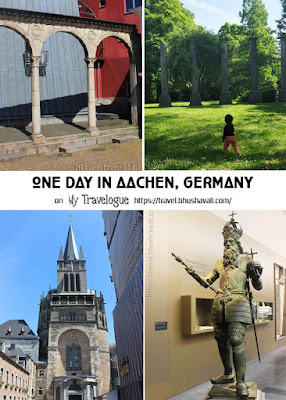 One day in Aachen Itinerary Pinterest