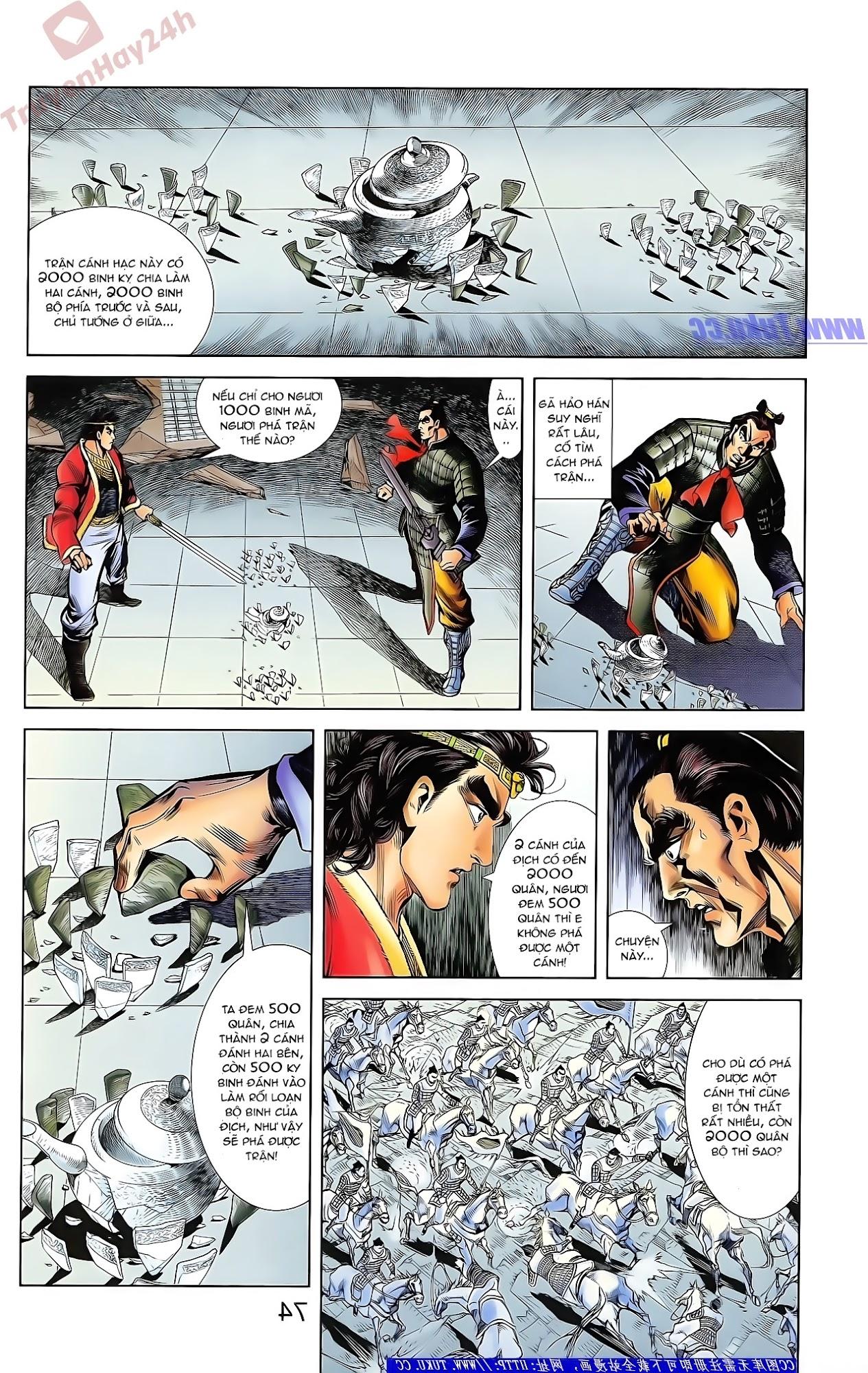 Tần Vương Doanh Chính chapter 42 trang 8