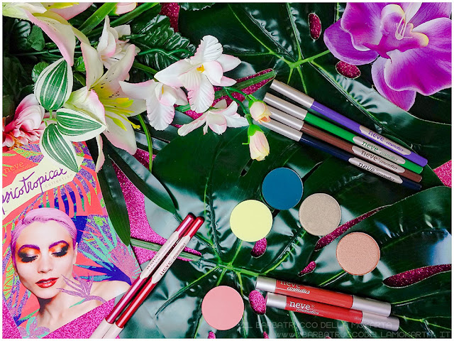 psicotropical collection neve cosmetics  recensione
