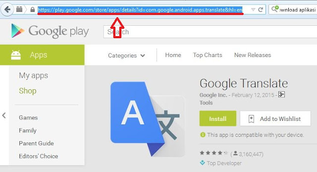 Download Aplikasi di GOOGLE Play