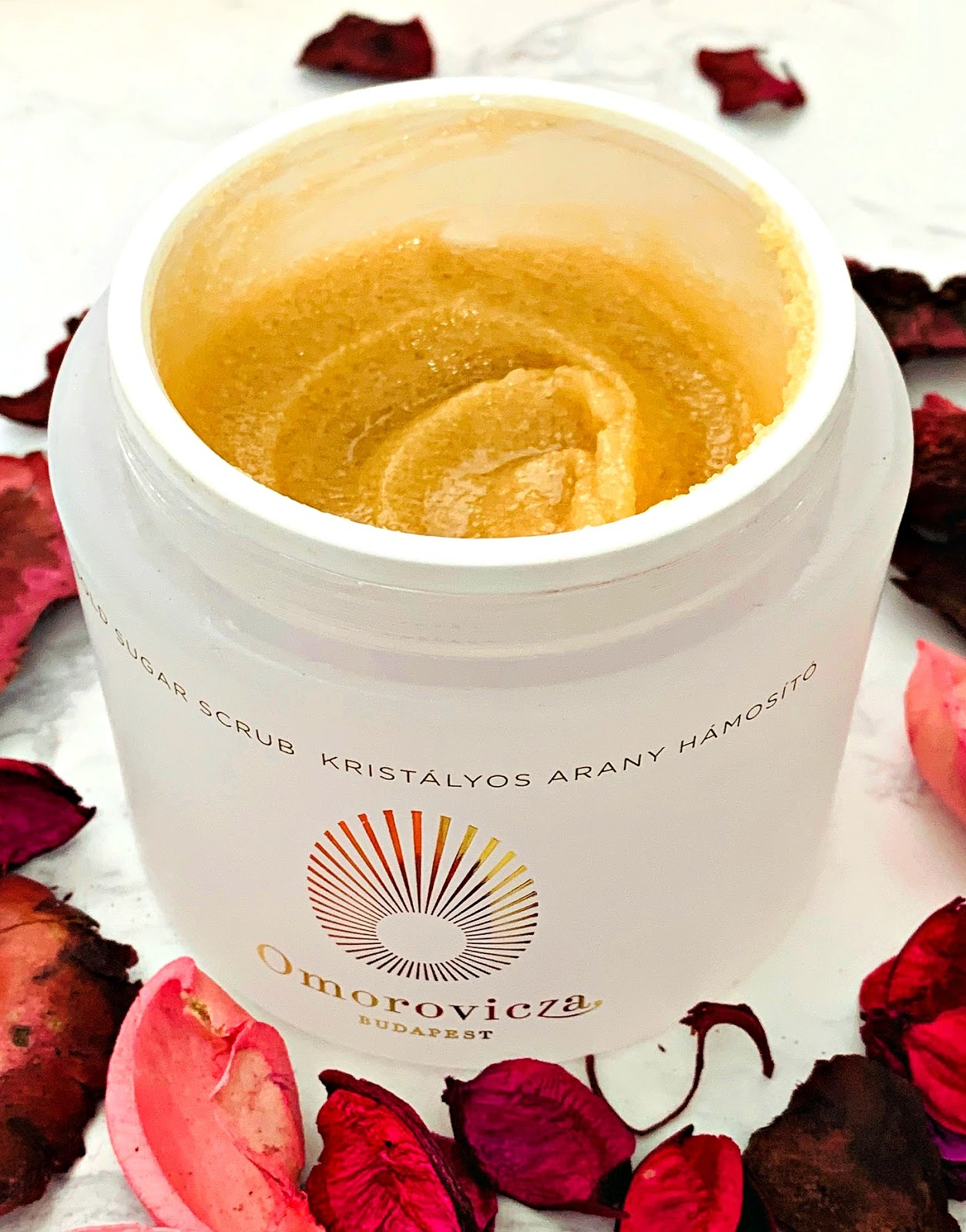 Omorovicza Gold Sugar Scrub Review
