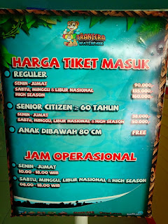 Transera Waterpark-tiket