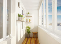How to decorate minimalist balcony