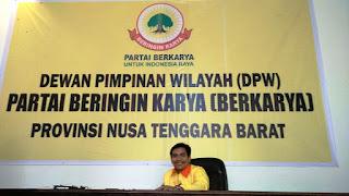 Partai Berkarya NTB Terima Politisi Terabaikan