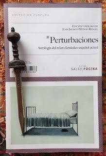 Portada del libro Perturbaciones