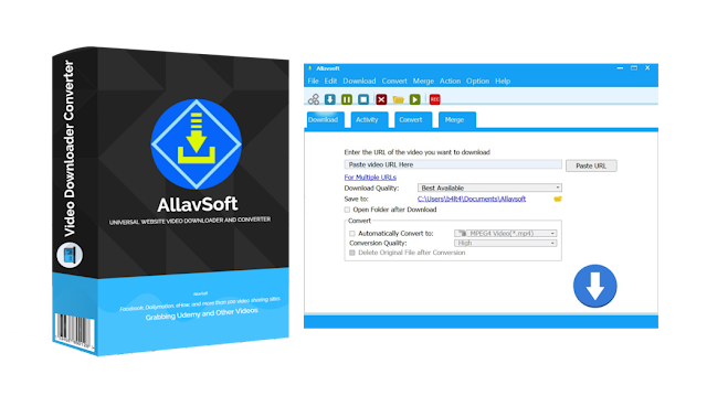 [GIVEAWAY] Allavsoft - Video Downloader and Converter [Grabbing Udemy and Other Videos]