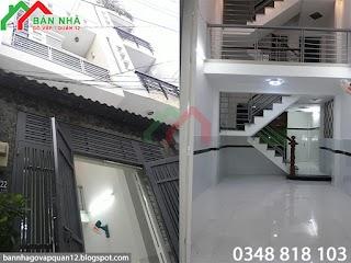[ 3.39 tỷ ] Bán Nhà Phường 8 Gò Vấp Hẻm Quang Trung - 3.5x9m ( MS 001 )