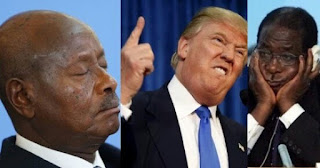 INSULT: Mugabe And Other Sit-Tight African Leaders Will End in Prison If I Win – Trump