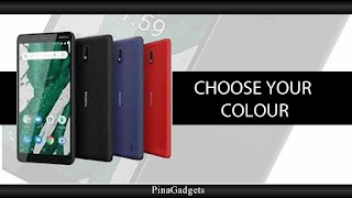 Nokia 1 Plus colours