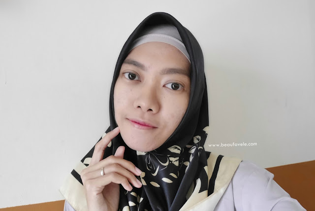 natural ombre with Wardah Instaperfect Mattesetter Lip Matte Paint