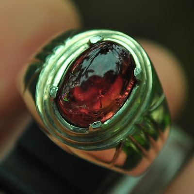 cincin batu tourmaline