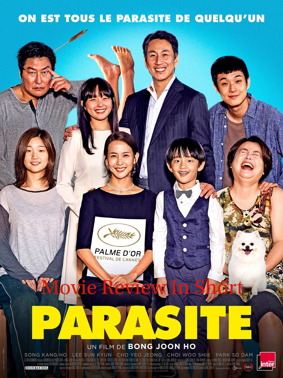 Parasite 2019 Movie Review Its Not A Masterpiece But Not Less Than It Movie Review In Short