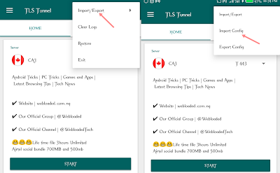 New TLS Tunnel  Settings & Config for Airtel Social Bundle  Cheat