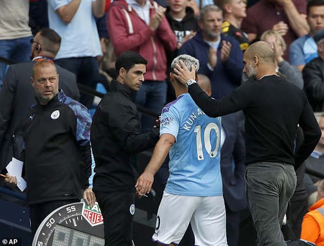 Chấn động Man City: Aguero cãi nhau với Pep Guardiola, phòng thay đồ dễ loạn 3