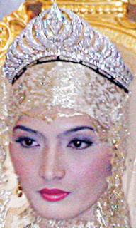 diamond crescent tiara brunei princess pengiran ratna siti noor aishah