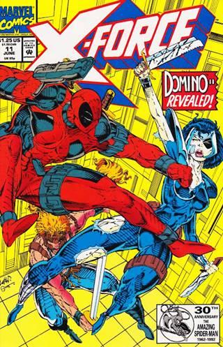 Deadpool era un villano en los cómics de X-Force