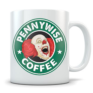 Stepehen King's It, Pennywise The Clown, Coffee Mug, Stephen King Coffee Mugs, Stephen King Store
