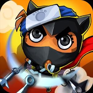 صورة و شعار لعبة Nyanko Ninja