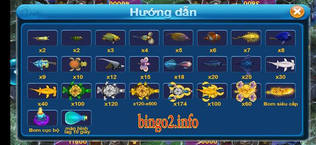 Những bí kíp bắn cá ăn bingo 2 thật theo luật